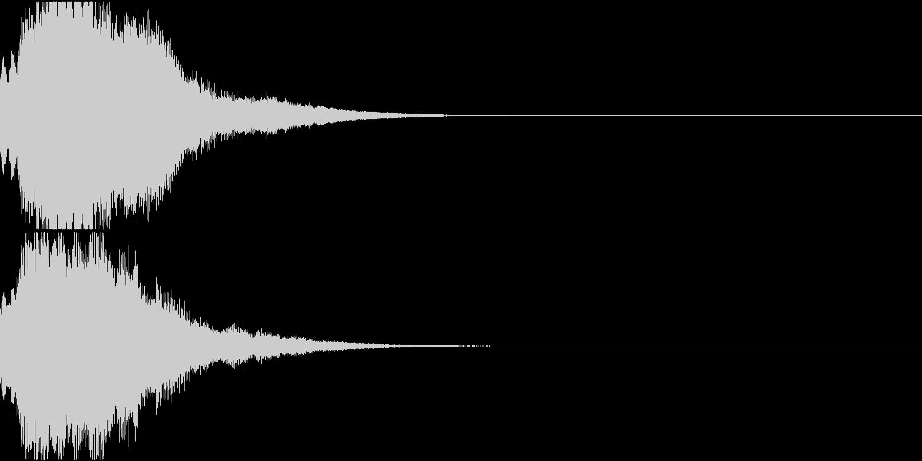 クリスマス ジングルベル キラキラ 06の未再生の波形