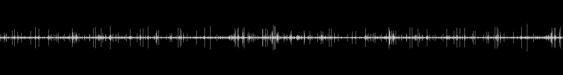 レコードノイズ Lofi ヴァイナル01の未再生の波形