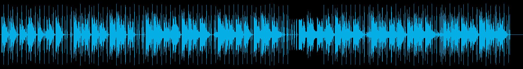 優しいミニマルテクノの再生済みの波形