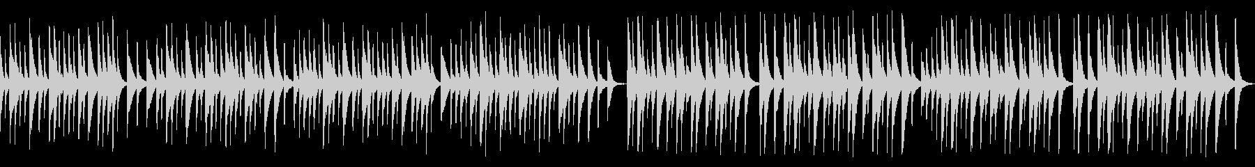 解説や料理番組に木琴レトロジャズ(ループの未再生の波形