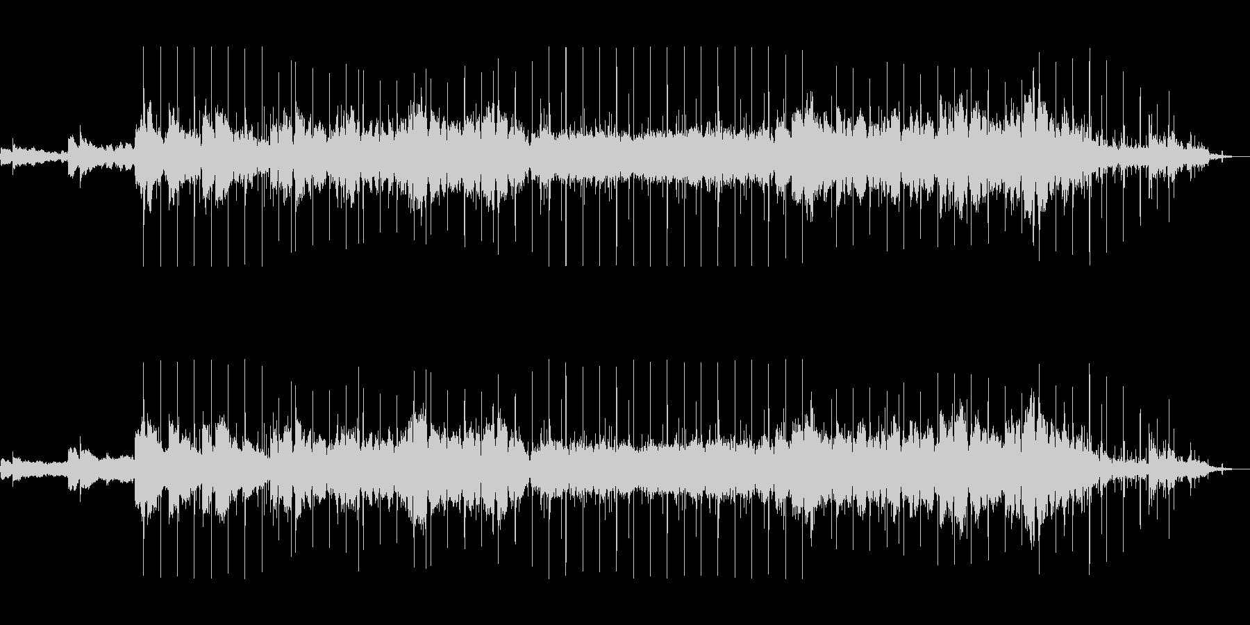 アンビエントローファイビートの未再生の波形