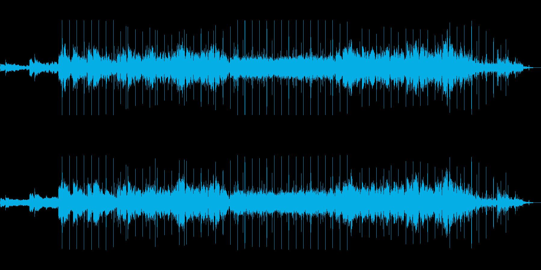 アンビエントローファイビートの再生済みの波形