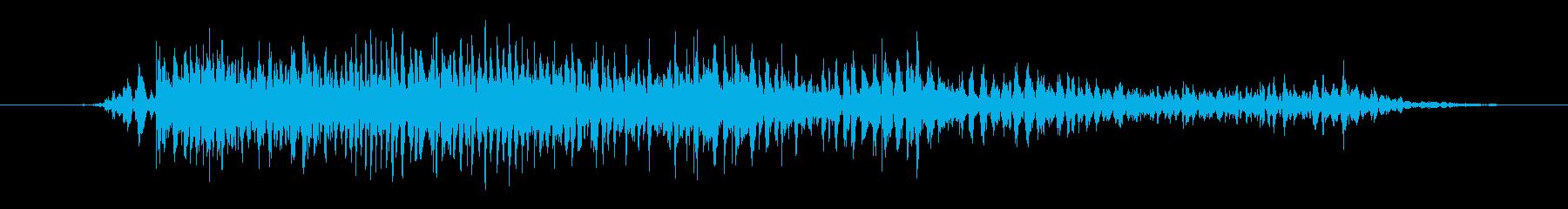 モンスター 窒息ゾンビ05の再生済みの波形