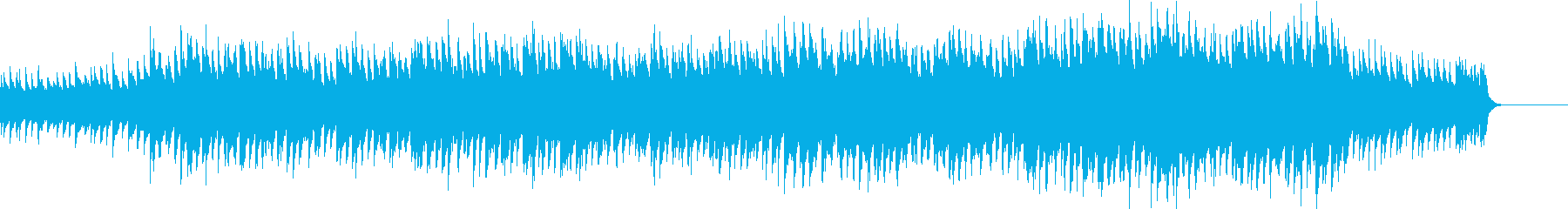 ピアノと弦のイージーリスニングの再生済みの波形