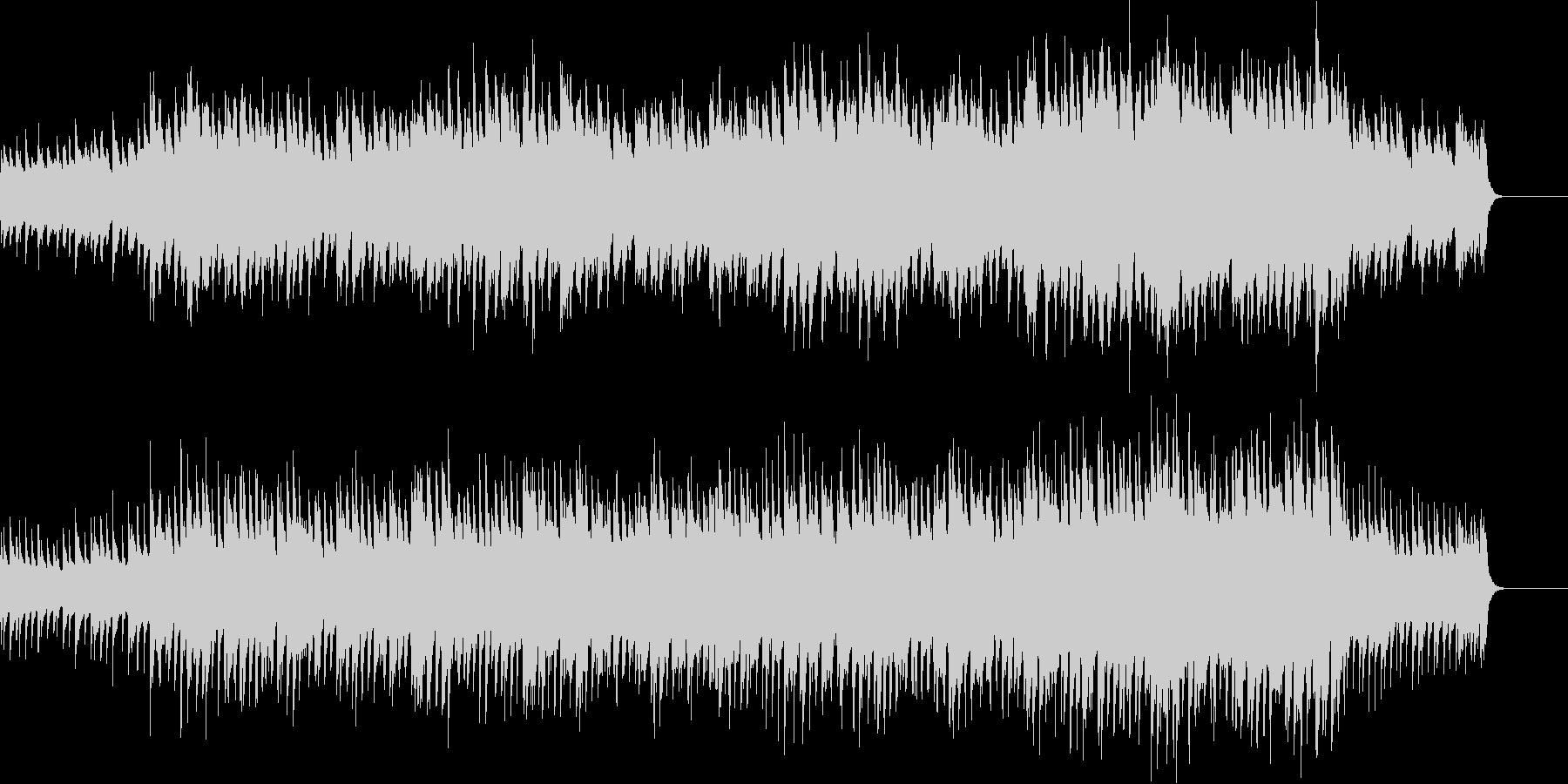 ピアノと弦のイージーリスニングの未再生の波形