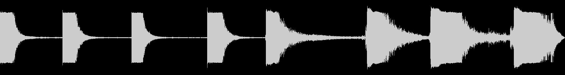 メタルドラムバングエンプティディス...の未再生の波形
