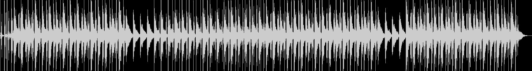 洋楽 悲しい ピアノ ローファイビートの未再生の波形