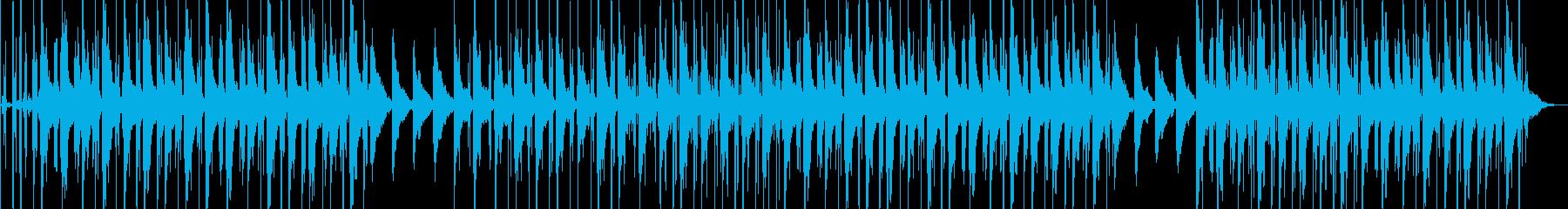 洋楽 悲しい ピアノ ローファイビートの再生済みの波形