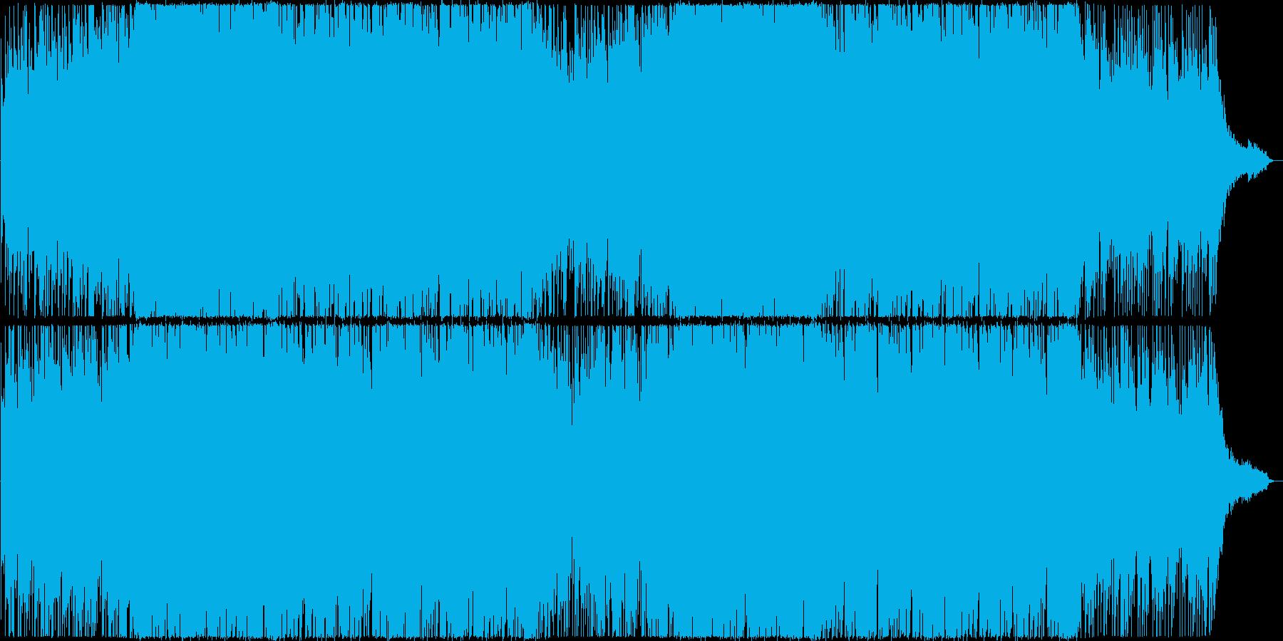 アップビート&ポップなエレクトロニック♪の再生済みの波形
