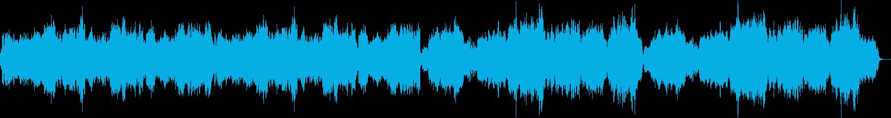 穏やかな癒し系の曲。クラシック。の再生済みの波形