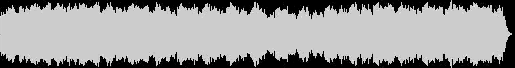 アンビエント ランドスケープ 環境音楽の未再生の波形