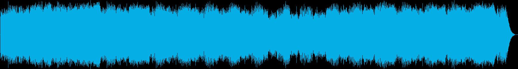アンビエント ランドスケープ 環境音楽の再生済みの波形