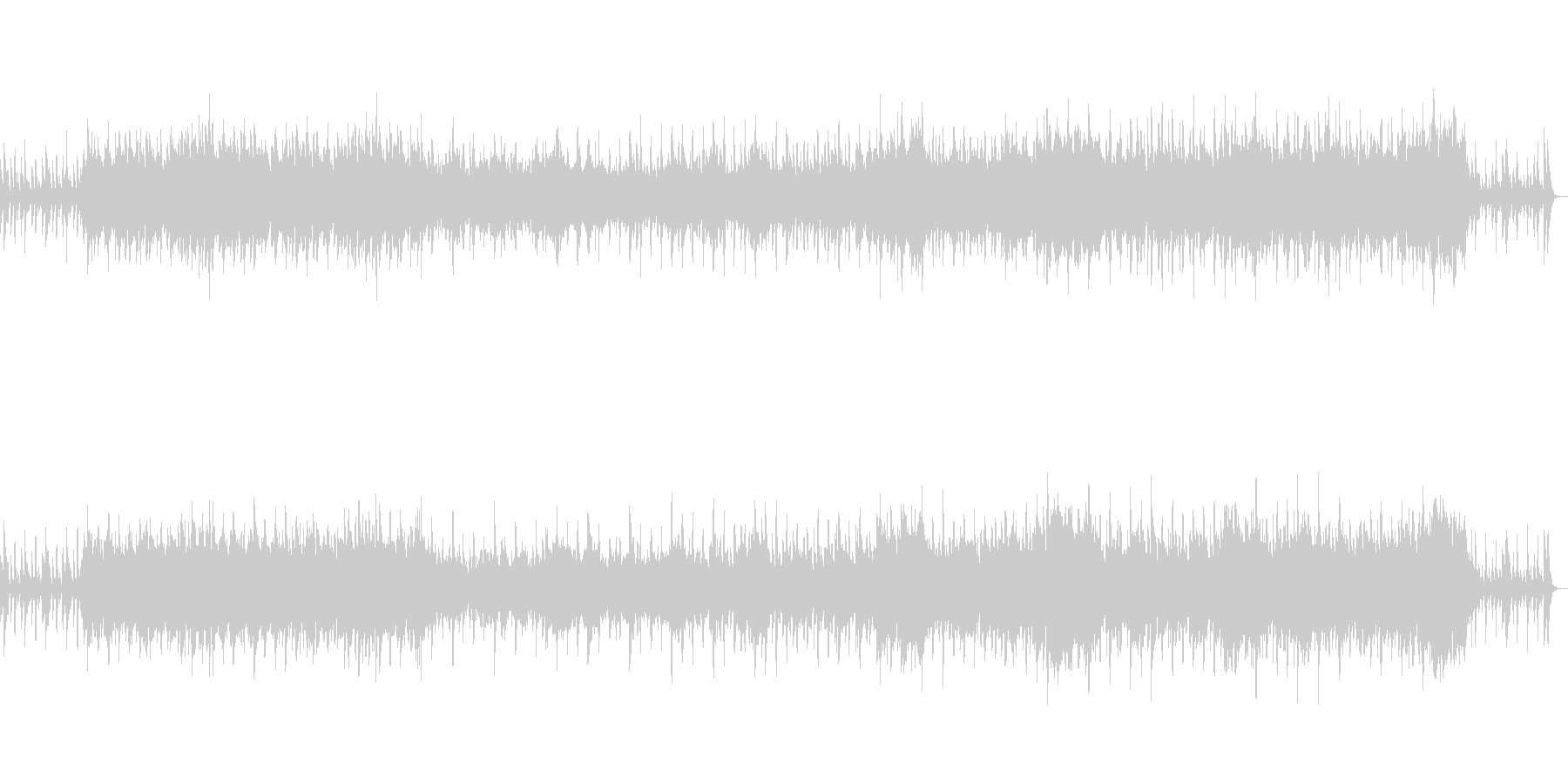 昭和の懐かしい風景に合う管弦楽の未再生の波形