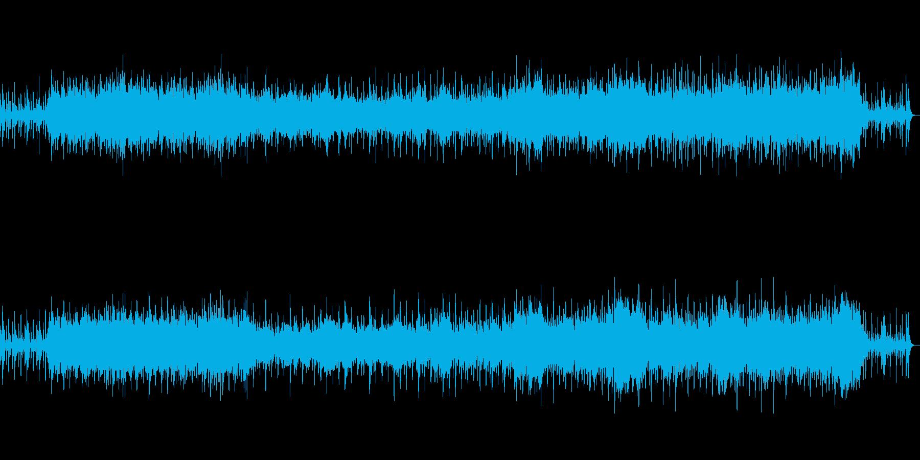 昭和の懐かしい風景に合う管弦楽の再生済みの波形