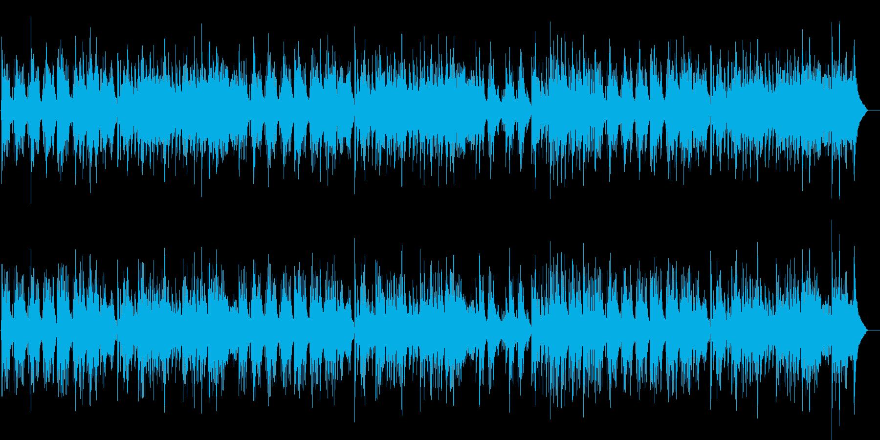 センチメンタルなJazzピアノバラードの再生済みの波形