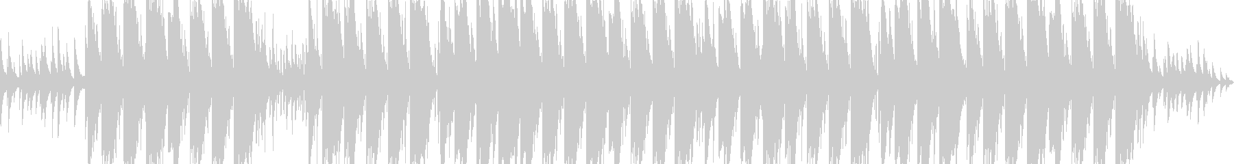切ないピアノのエモトラップの未再生の波形