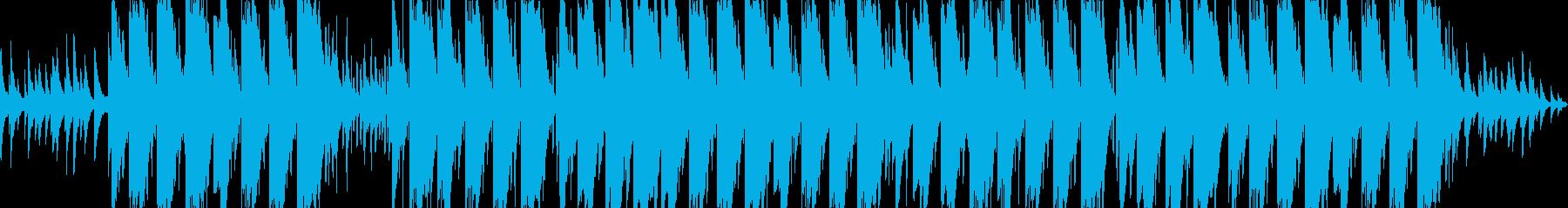 切ないピアノのエモトラップの再生済みの波形