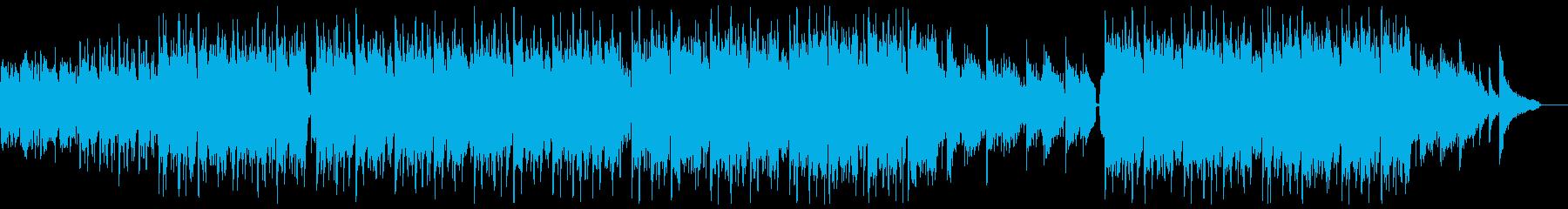 明るいピアノバイオリンポップ:フルx1の再生済みの波形