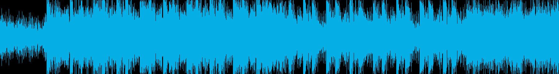 映画音楽 戦闘シーン LOOP 劇伴の再生済みの波形