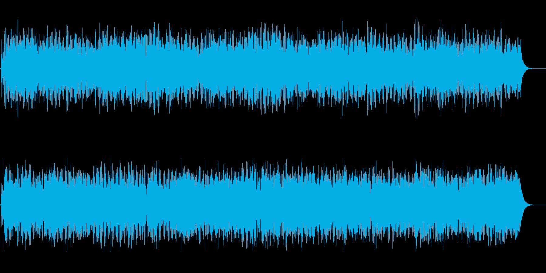 静かな夜のBGMの再生済みの波形