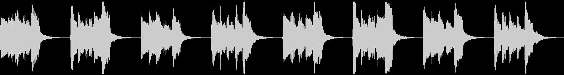 【ループ】中世風のギター:太古の森2の未再生の波形