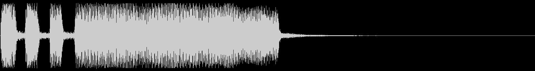 失敗音ジングル_ゲーム、アプリ、映像の未再生の波形