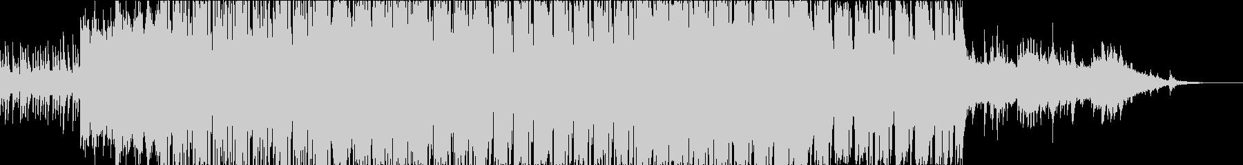 琴にシンセサウンドを入れたEDMの未再生の波形