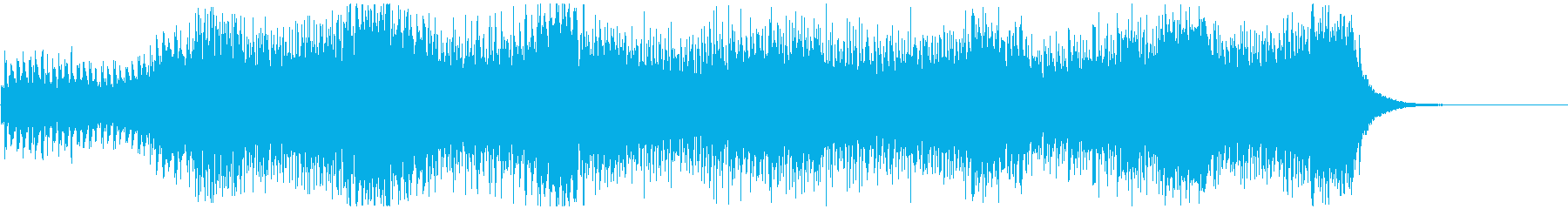 宇宙・未来的なエレクトロ 映像向けの再生済みの波形