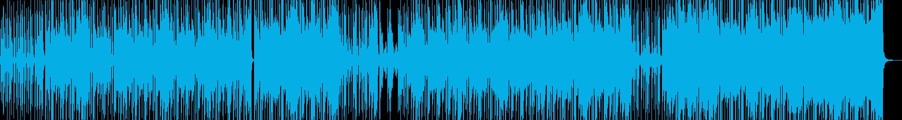 ストリート育ちイメージのヒップホップ Aの再生済みの波形