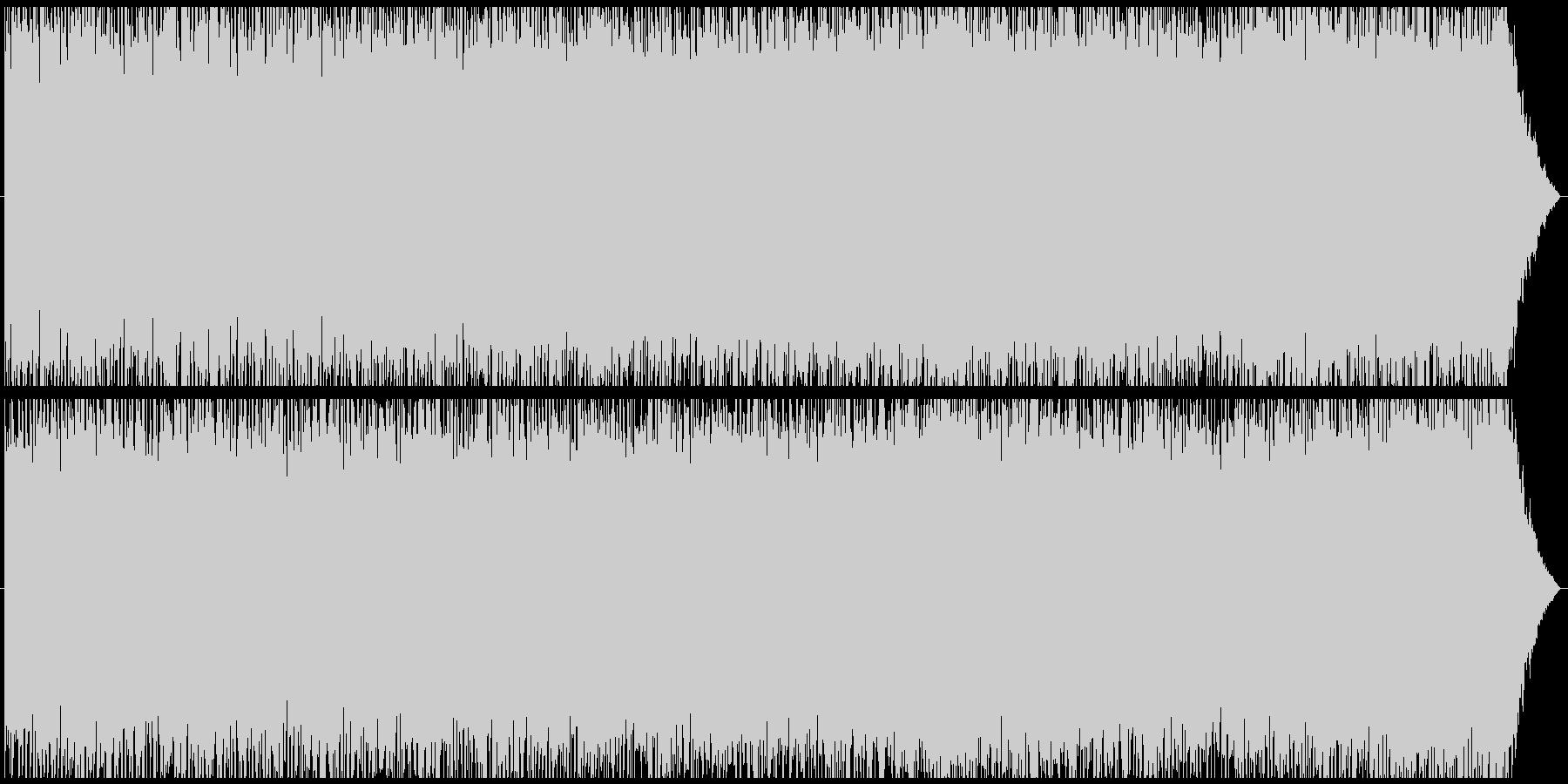 ショパン「別れの曲」ざっくり43秒まとめの未再生の波形