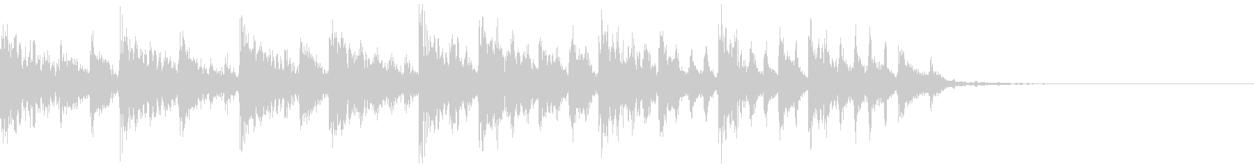 エレクトロなジングル・61の未再生の波形