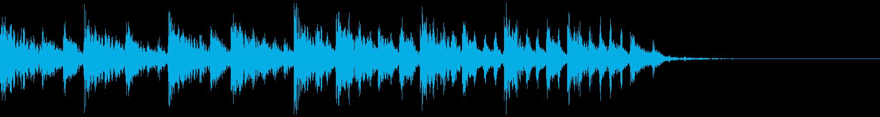 エレクトロなジングル・61の再生済みの波形