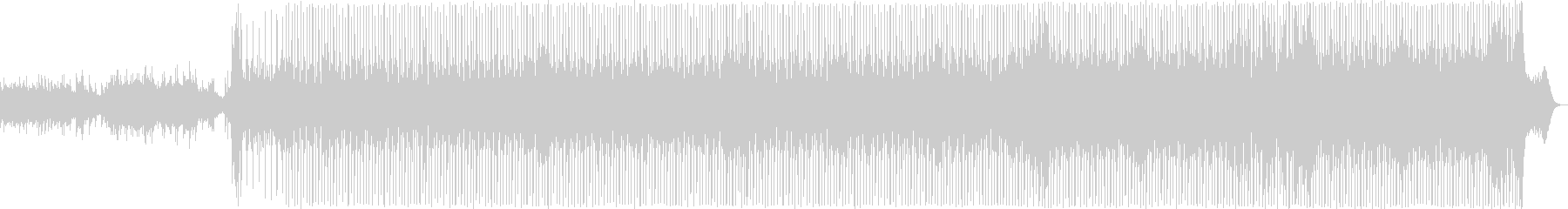 軽快な雰囲気のポップBGMの未再生の波形