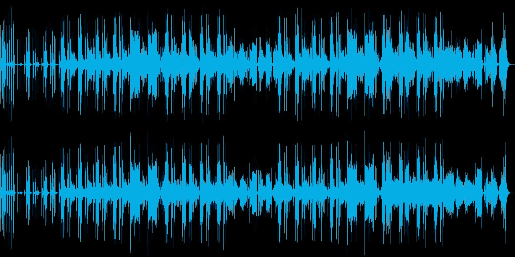 リコーダーのまぬけな日常会話シーン劇伴の再生済みの波形