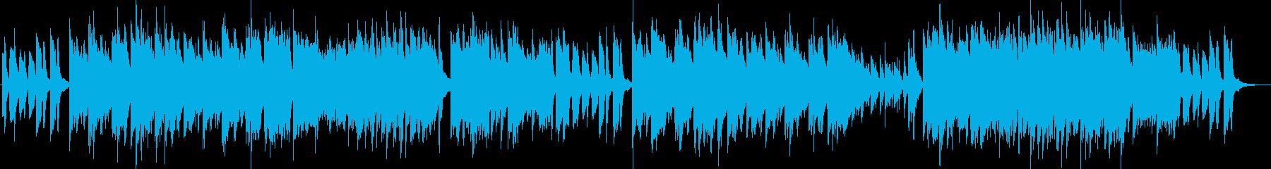 不思議で攻撃的な曲調のピアノソロの再生済みの波形