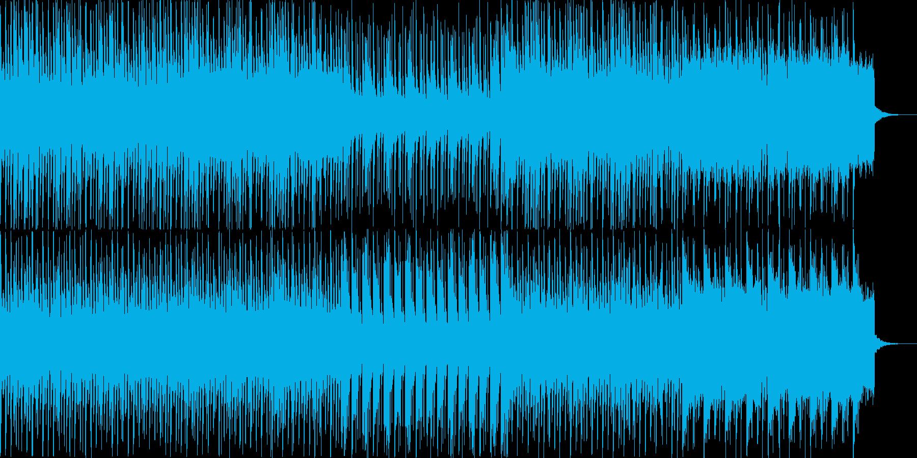 わくわくする雰囲気のエレクトロなポップスの再生済みの波形