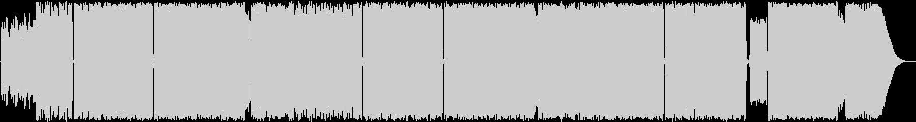 【哀愁キャッチーロキノンRock】生演奏の未再生の波形