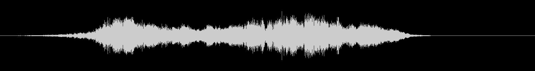 カートインディカー;ターン(2台の...の未再生の波形