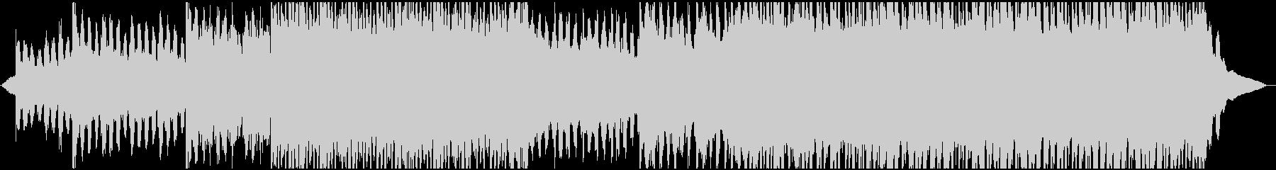 ゆったり楽し気なコーポレート系BGMの未再生の波形