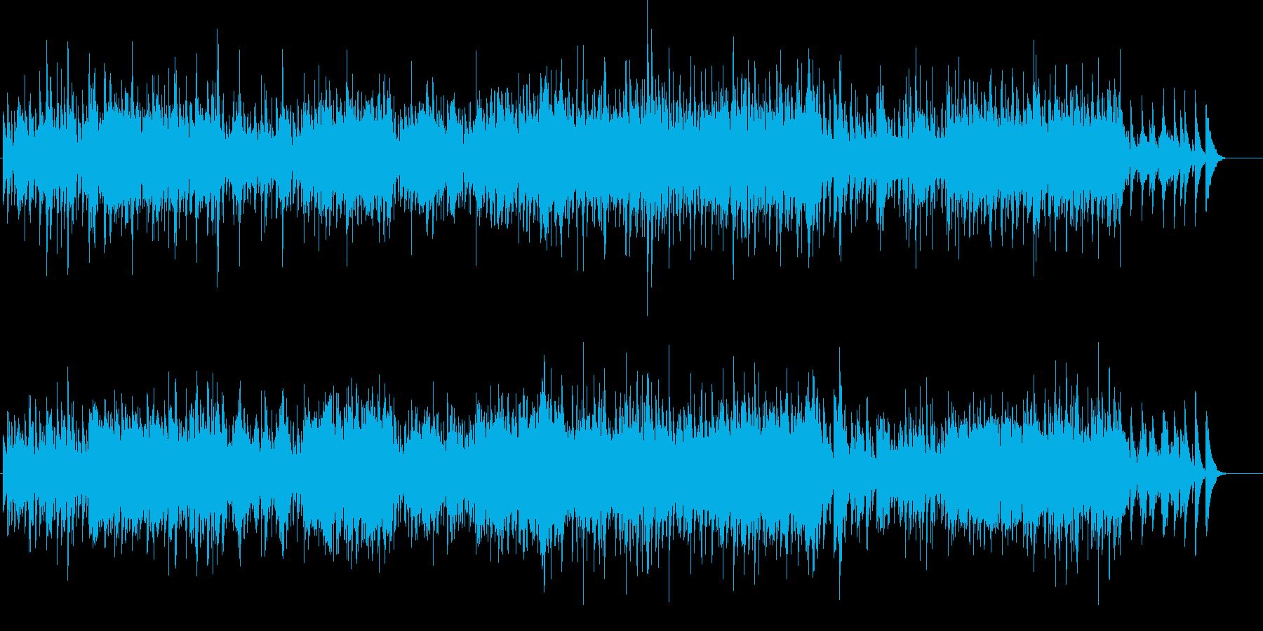 ピアノとハープが織りなすハーモニーの再生済みの波形