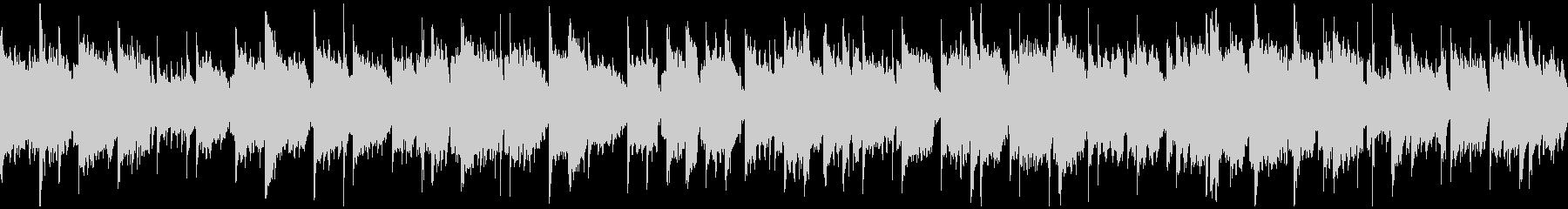 ノスタルジックな笛の癒し系の曲※ループ版の未再生の波形