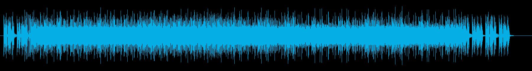 異次元、近未来感があるエレクトロサウンドの再生済みの波形