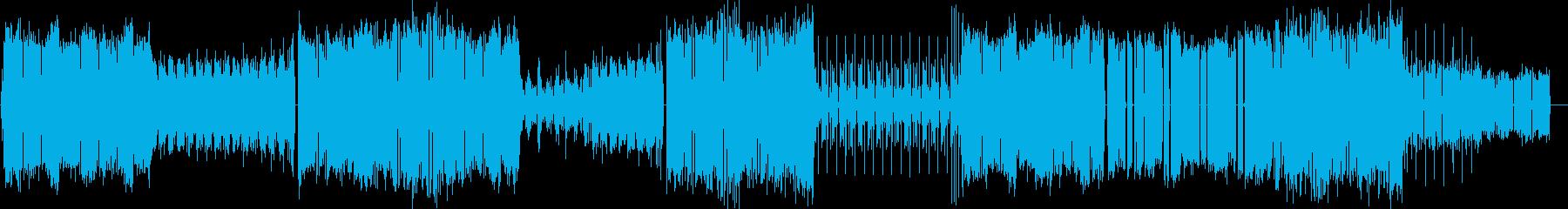 フューチャー風なポップス(メロディなし)の再生済みの波形