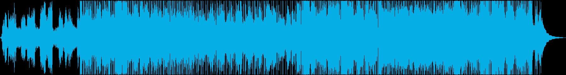 和風ノスタルジックの再生済みの波形