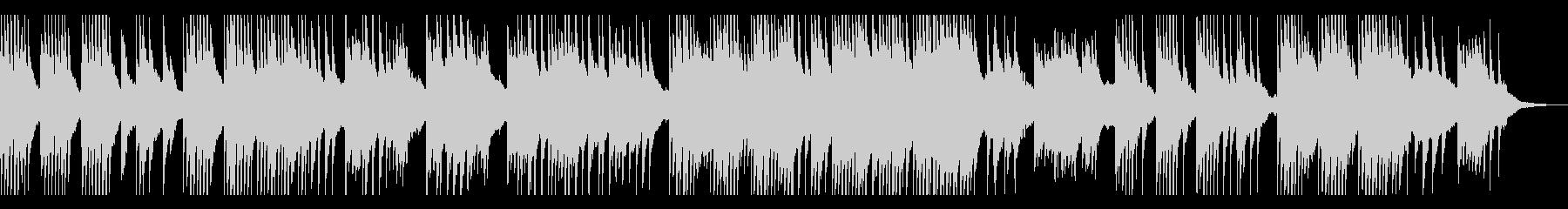 セピア・回想・モノローグ ピアノソロの未再生の波形