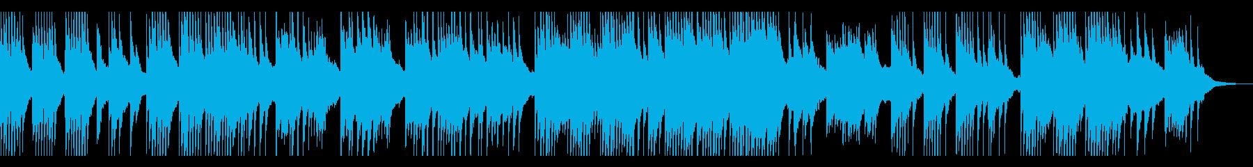 セピア・回想・モノローグ ピアノソロの再生済みの波形