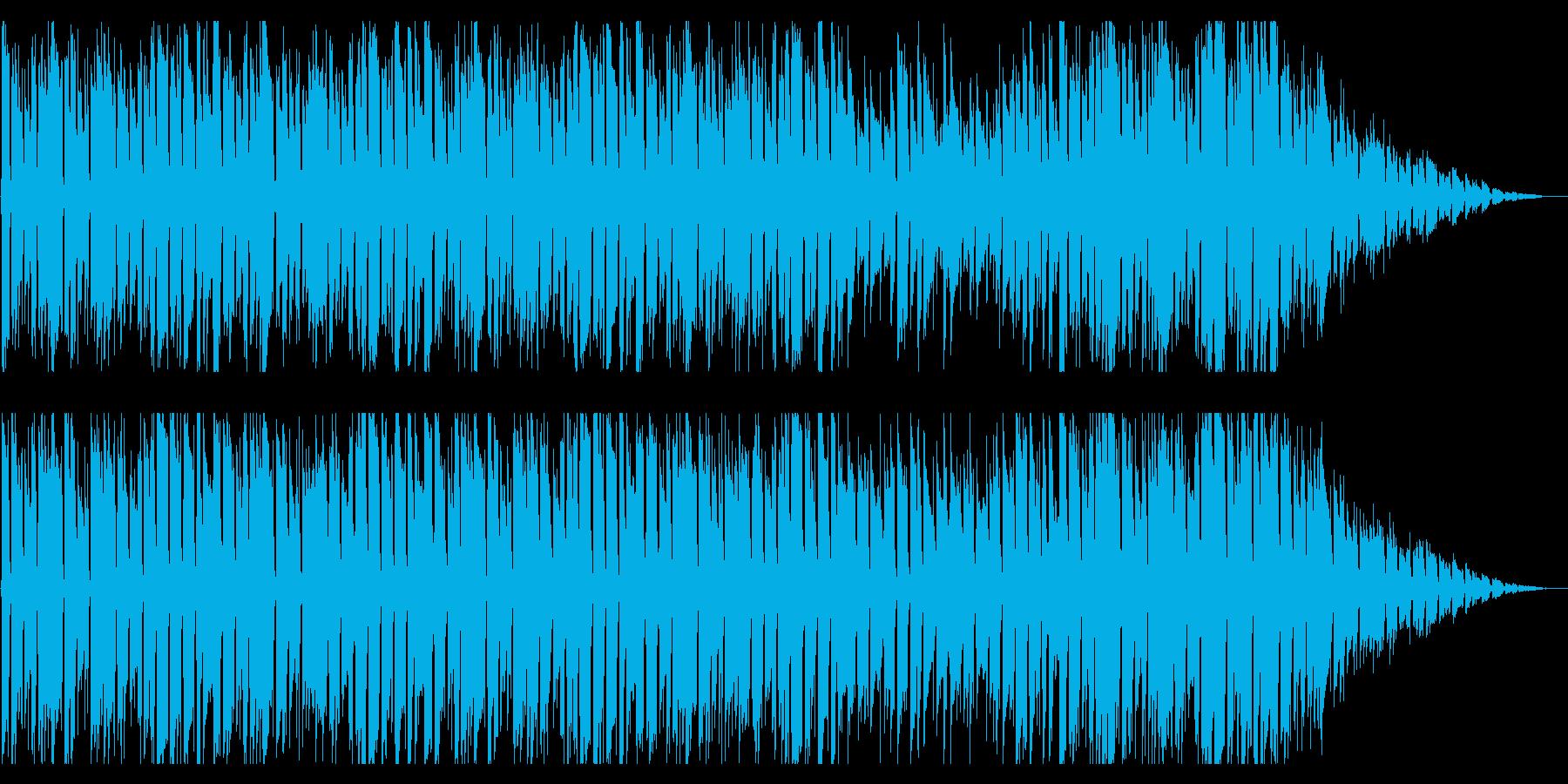 夏を感じる爽やかラウンジBGMの再生済みの波形