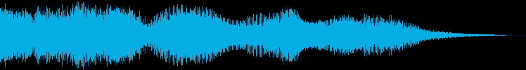 オープニング用サウンドロゴ26の再生済みの波形