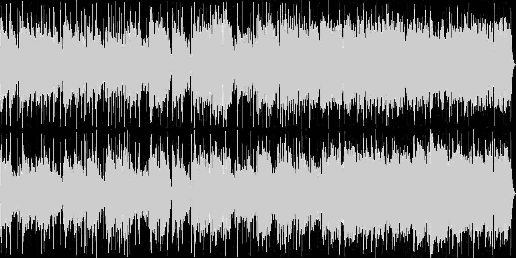 ウクレレが印象的なオシャレポップスの未再生の波形