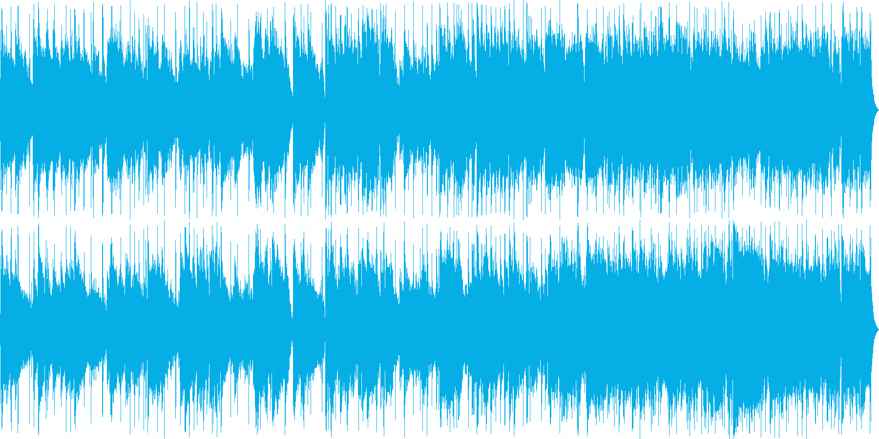 ウクレレが印象的なオシャレポップスの再生済みの波形
